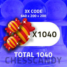 chesscandy 1040 candy value bundle