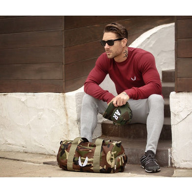 Cool camouflage gym and yoga bag (also in black)