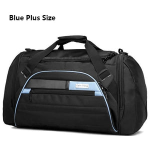 Multi-functional waterproof gym bag