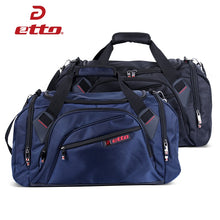 Load image into Gallery viewer, Etto gym bag with separate shoes storage