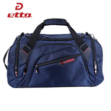 Load image into Gallery viewer, Professional Sports Gym Bag with separate Shoes Storage. High quality Waterproof Bag from Etto for pro's.