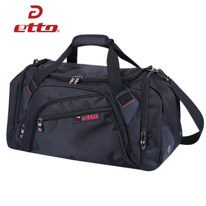 Etto gym bag with separate shoes storage