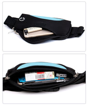 Load image into Gallery viewer, Cool Waterproof Running Waist Bag With Waterproof Mobile Phone Holder