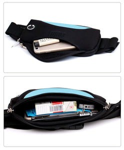 Cool Waterproof Running Waist Bag With Waterproof Mobile Phone Holder