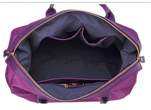Stylish yoga and gym bag in waterproof design