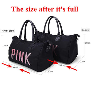 Gym, Fitness or Yoga Bag for Shoulder Carrying. With Shoes compartment