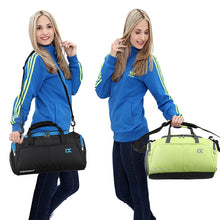 Load image into Gallery viewer, Gym Bag for Training, Fitness or Traveling with Dry Wet shoes Pocket