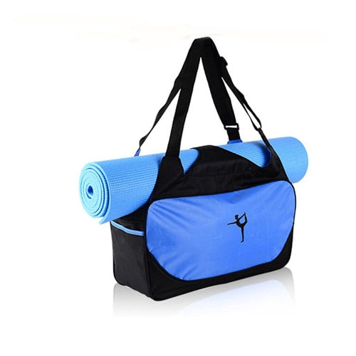 Smart Yoga or Pilates Bag with place for your Mat in 6 colors