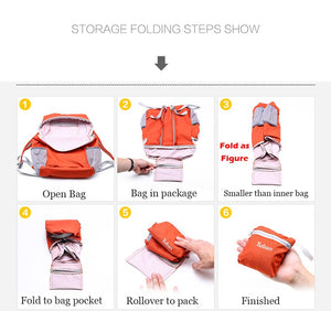 Foldable and practical outdoor bag