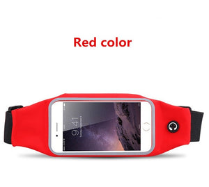 Waterproof Sport GYM Running Waist Belt for iPhone