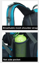 Load image into Gallery viewer, Gym Wellness Bag or Hiking Backpack 50 L Waterproof material for Outdoor use