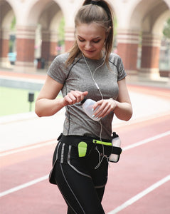 Waterproof hydration waist bag for running and outdoor