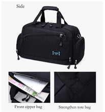 Load image into Gallery viewer, Gym Bags Men Sports Fitness Pack Cylinder One Shoulder Sport Bag Women's Handbags Travel Bags Nylon Waterproof Handbag Package