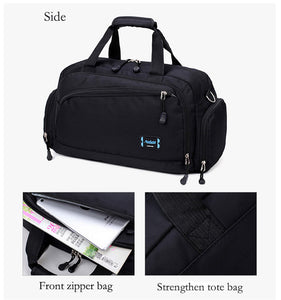 Gym Bags Men Sports Fitness Pack Cylinder One Shoulder Sport Bag Women's Handbags Travel Bags Nylon Waterproof Handbag Package