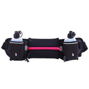 Waist bag for water bottles for running and outdoor