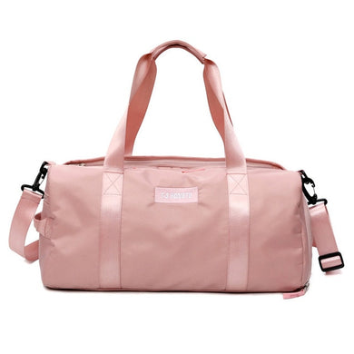T-3 Hongtu waterproof gym and yoga bag in pink or black