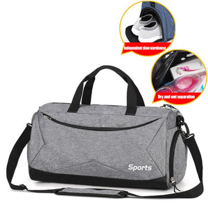 Fitness Gym Bags or Yoga Bag with Shoes Pocket