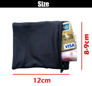 Double Side Wrist Wallet Pouch for Running or Fitness