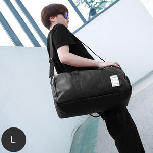 Stylish PU Leather Gym Bag or Travel Luggage Bag