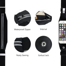 Load image into Gallery viewer, Waterproof Sport GYM Running Waist Belt for iPhone
