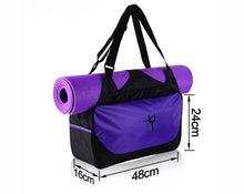 Load image into Gallery viewer, High Quality Multi functional Waterproof Yoga, Pilates or Gym Bag