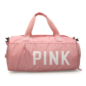 Feminine gym and yoga bag