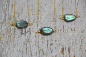 Labradorite Necklace 14k Gold Filled |Made to Order|