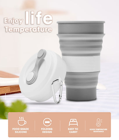 collapsible coffe cup