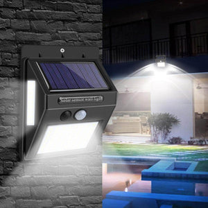 outdoor solar led light motion senzor