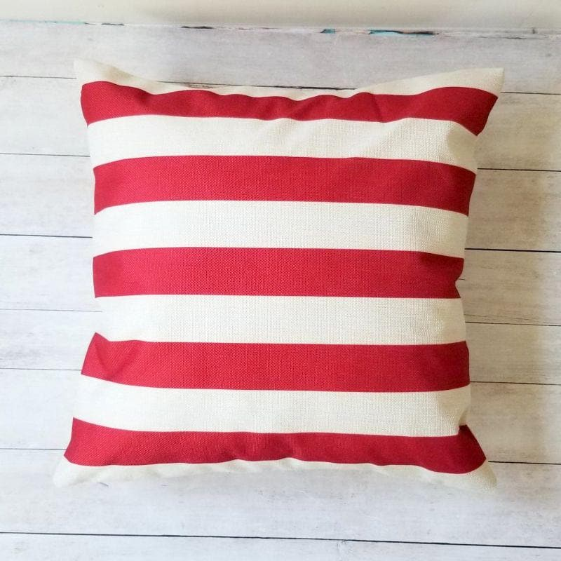 Americana Stars and Stripes Pillow Covers - Set of 2