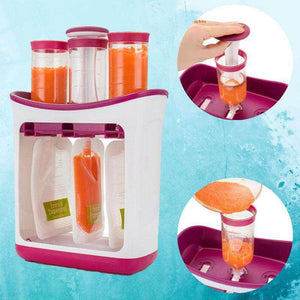 SqueezeStar™ Baby Food Squeeze Station