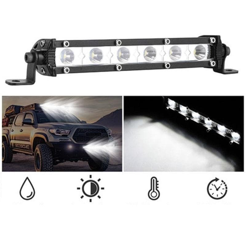 Car Ultra Slim Straight LED Light