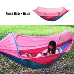 sleeping hammocks