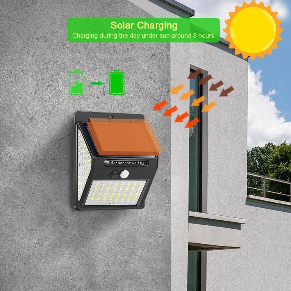 solar motion sensor light