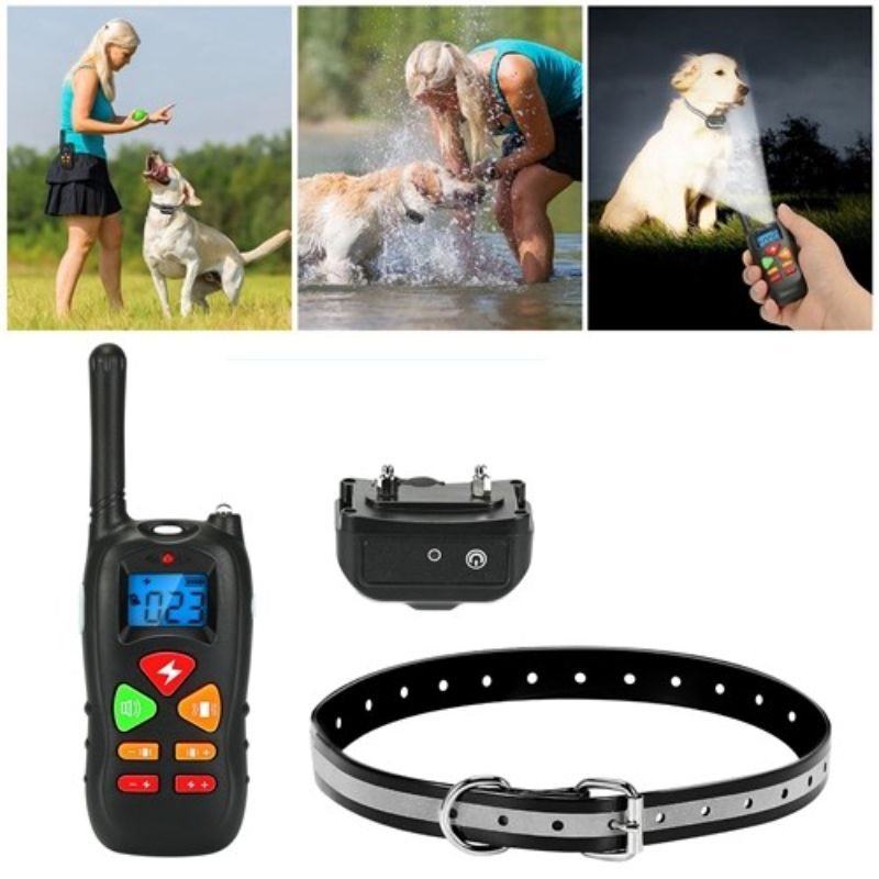 Waterproof Vibration and Shock Electronic Dog Training Collar
