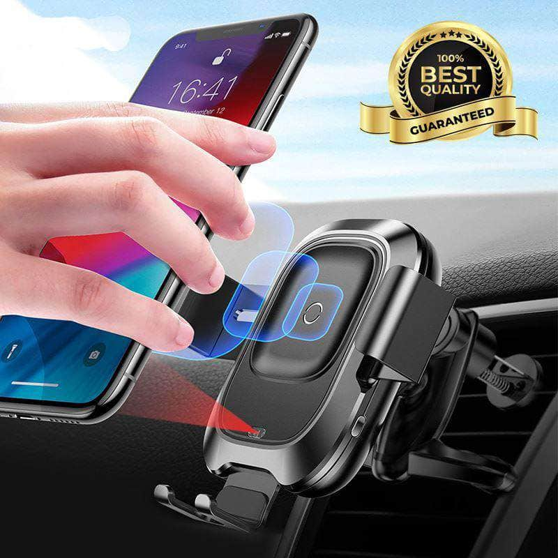 wireless charging magnetic car mount