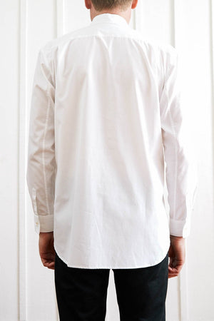 Dinner Shirt - White Comb Bib