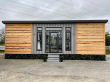 Load image into Gallery viewer, Annexe 30ft x 12ft 1 bedroom Rustic lodge