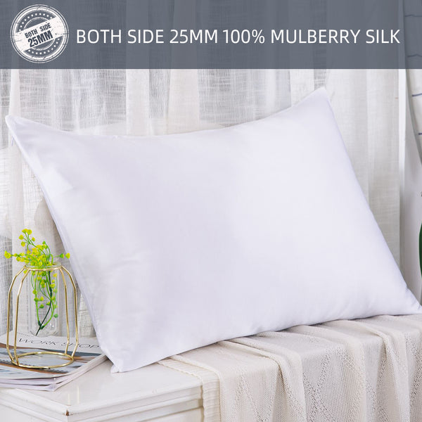 Slpbaby 100% Pure Mulberry Silk 25MM | For Hair and Skin | Nice Gift
