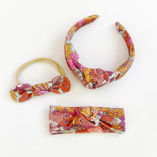 Load image into Gallery viewer, Dolly Knotted Headbands (Various Colors)