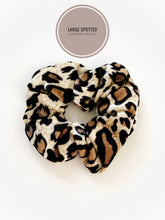 Load image into Gallery viewer, Leopard Scrunchies (3 Color Options!)