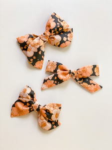 Moonlight Floral Oversized Elle Bow