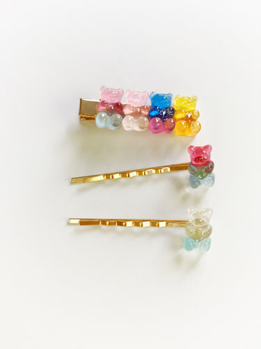 Gummy Bear Clips (Singles & Sets)