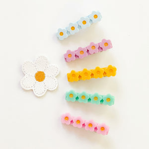 The Blossom Clips (Various Color Choices Available)