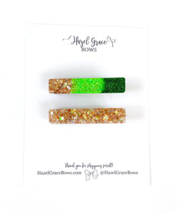 Exclusive Lucky Launch Glitter Clips (3 options available)