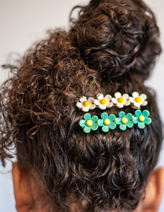 The Judy Floral Clip (5 Color Choices Available) ~ The Lucky Spring Collection