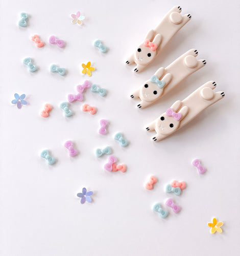 Bunny Clips (sold as set & individually)