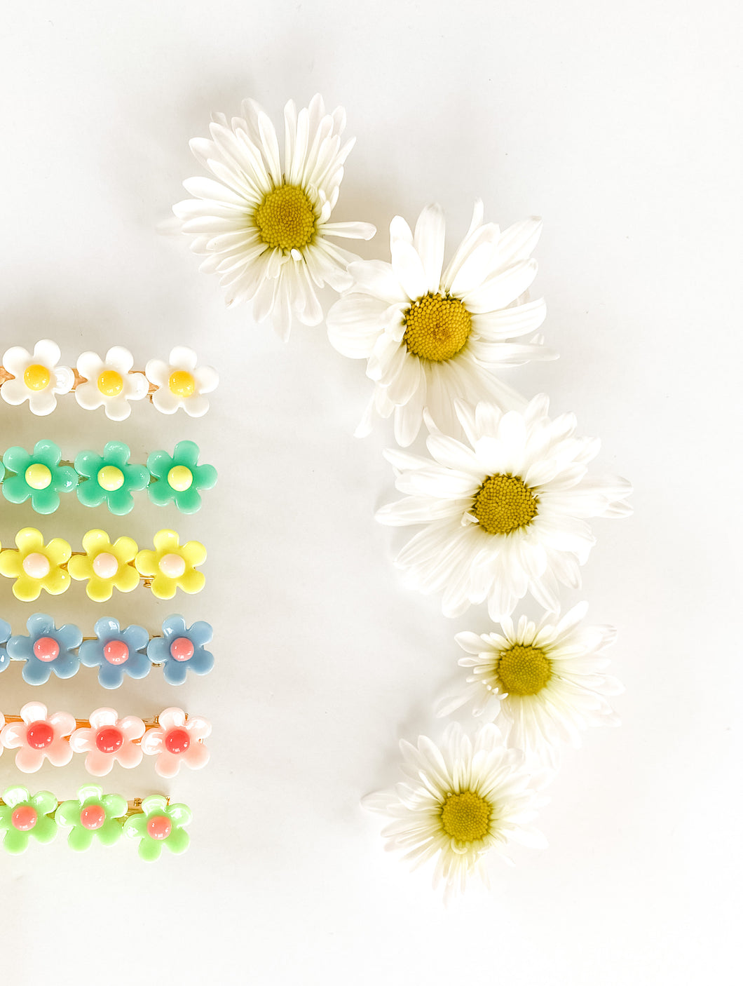 **BLEMISHED** Judy Floral Clips (5 Color Choices Available) ~ The Lucky Spring Collection