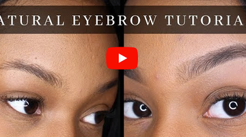 Tutorial: Natural Brows with Dominque