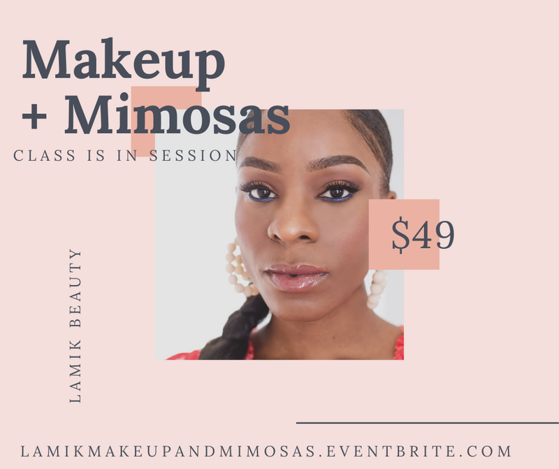 Makeup + Mimosas: Hands-On Makeup Class with Kim Roxie